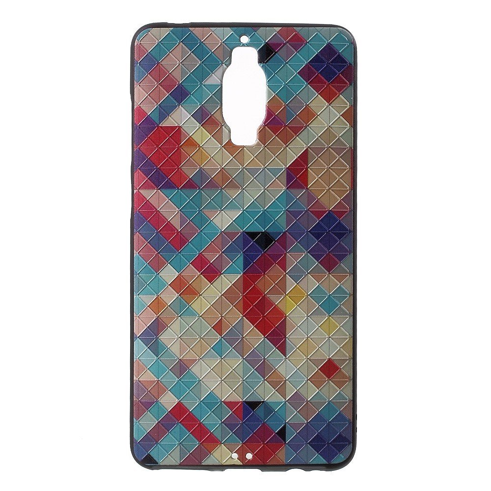 Billede af Huawei Mate 9 Pro/Porsche InCover Premium TPU Cover - Colorful Checkers