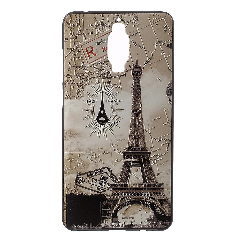 Billede af Huawei Mate 9 Pro/Porsche InCover Premium TPU Cover - Eiffel Tower