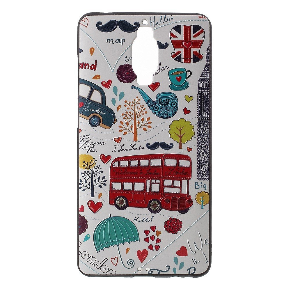 Image of Huawei Mate 9 Pro/Porsche InCover Premium TPU Cover - London Elements