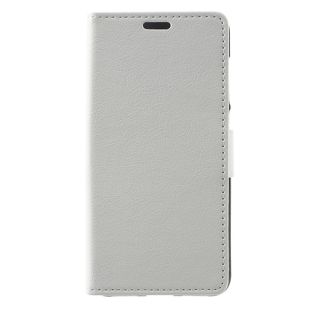Billede af Huawei Honor 8 Lite PU læder FlipCover m. Kortholder - Hvid