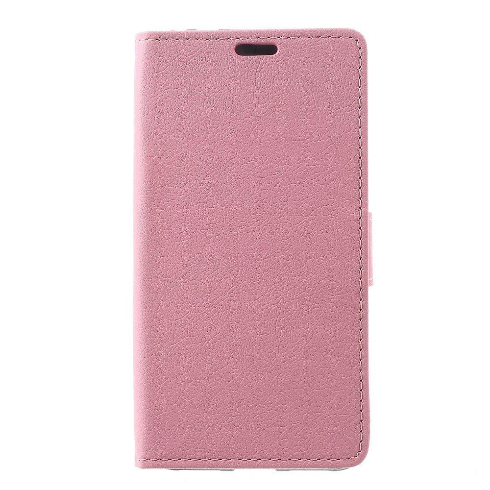 Billede af Huawei Honor 8 Lite PU læder FlipCover m. Kortholder - Pink