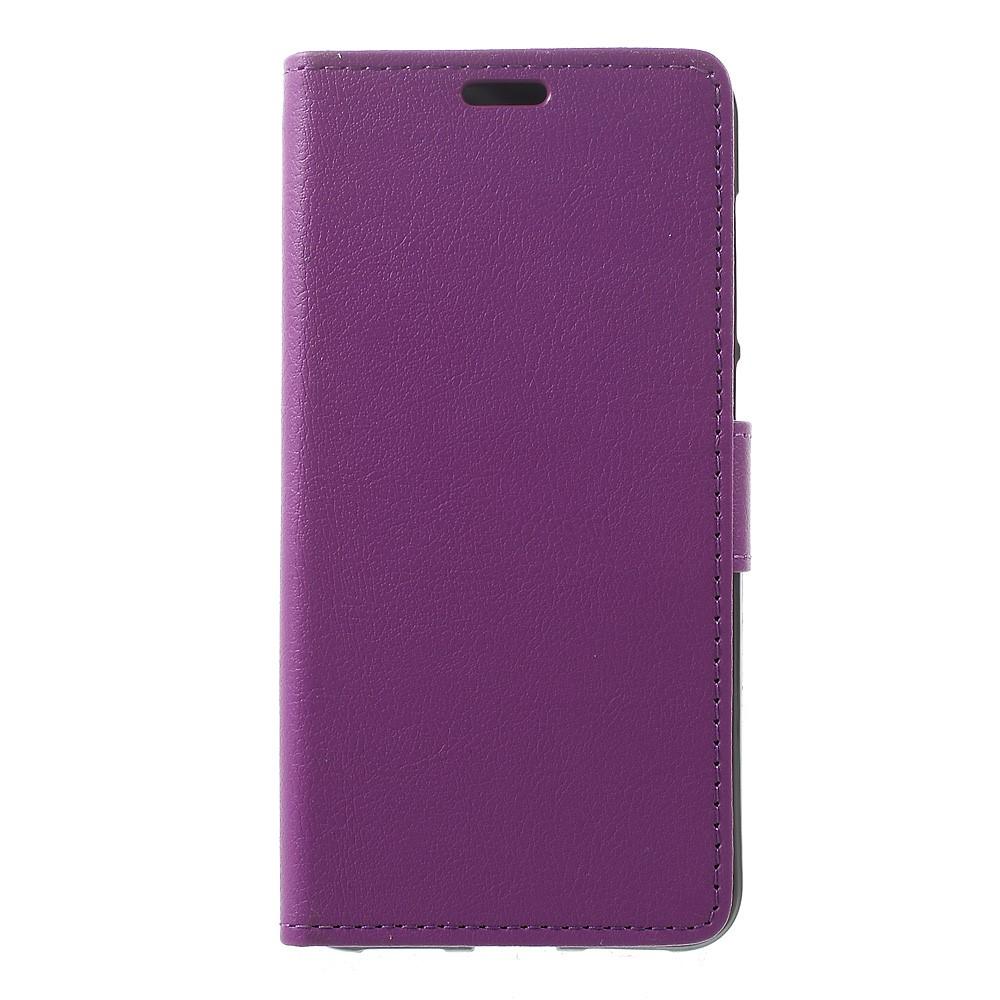 Billede af Huawei Honor 8 Lite PU læder FlipCover m. Kortholder - Lilla