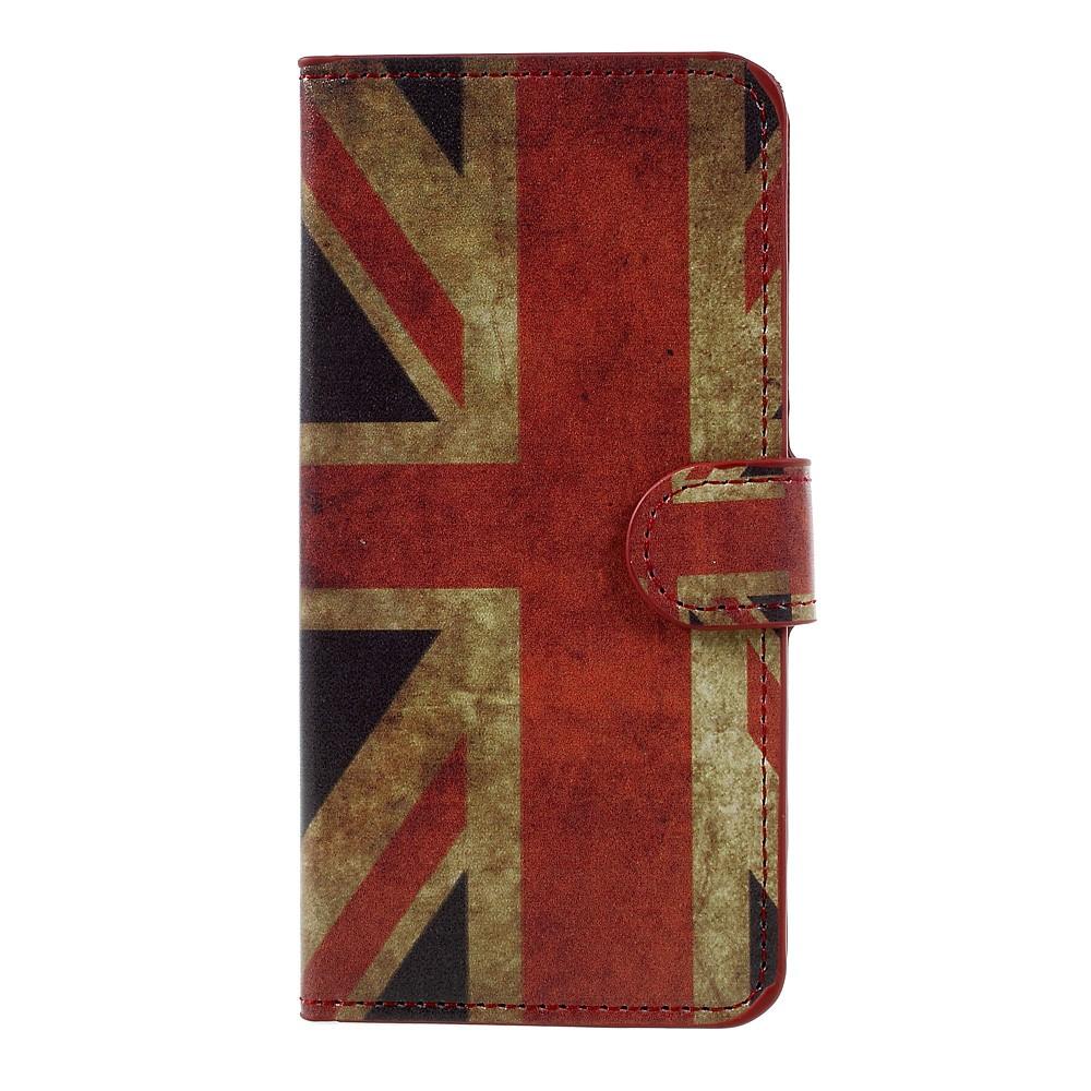 Billede af Huawei Honor 8 Lite PU læder FlipCover m. Kortholder - UK Flag