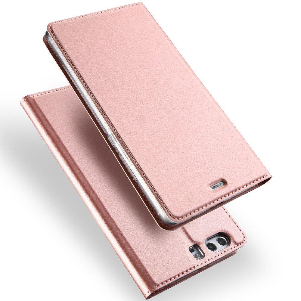 Billede af Huawei P10 Plus DUX DUCIS FlipCover m. Kortholder - Rosa