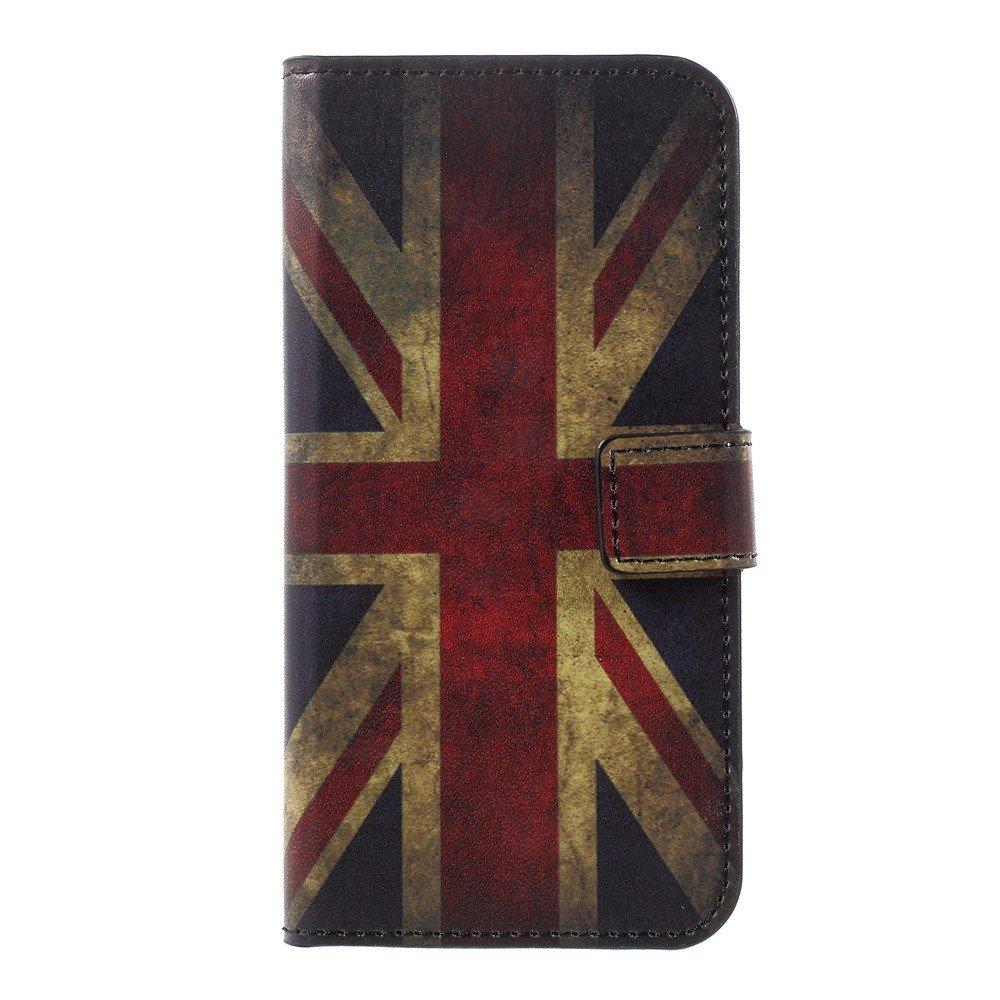 Billede af Huawei P10 PU læder FlipCover m. Kortholder - UK Flag