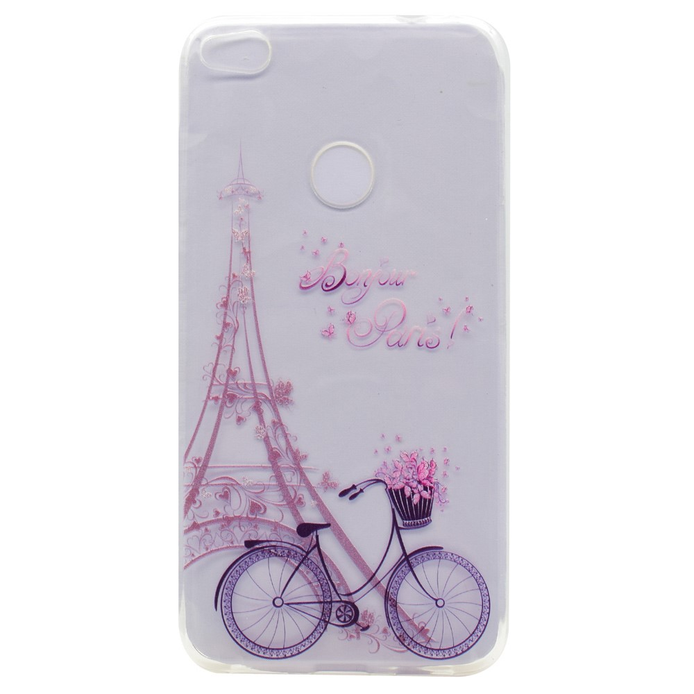 Billede af Huawei Honor 8 Lite InCover TPU Cover - Paris