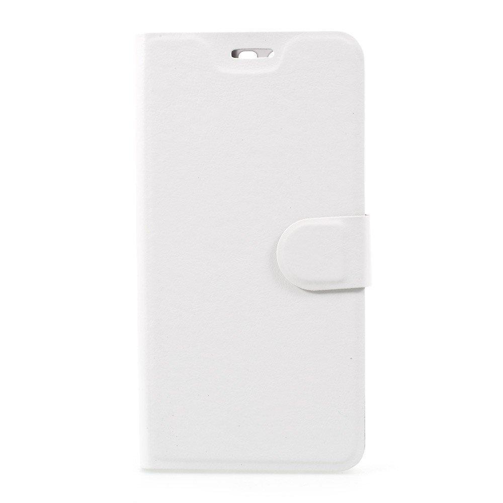 Billede af Huawei P10 Plus PU læder FlipCover m. Magnetisk Forcover - Hvid