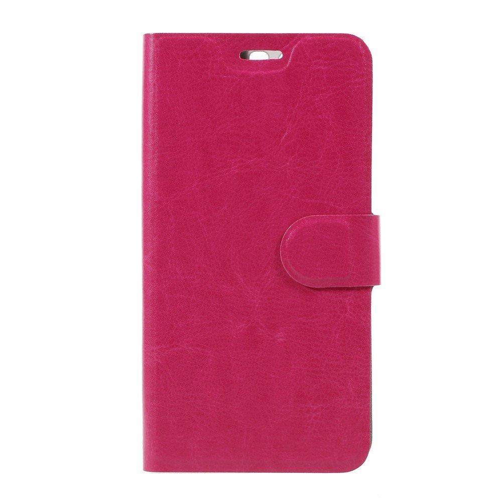 Billede af Huawei P10 Plus PU læder FlipCover m. Magnetisk Forcover - Rosa