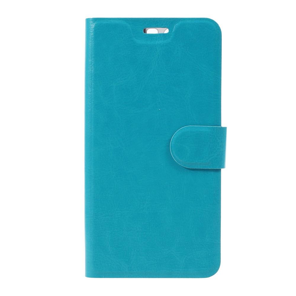 Billede af Huawei P10 Plus PU læder FlipCover m. Magnetisk Forcover - Blå