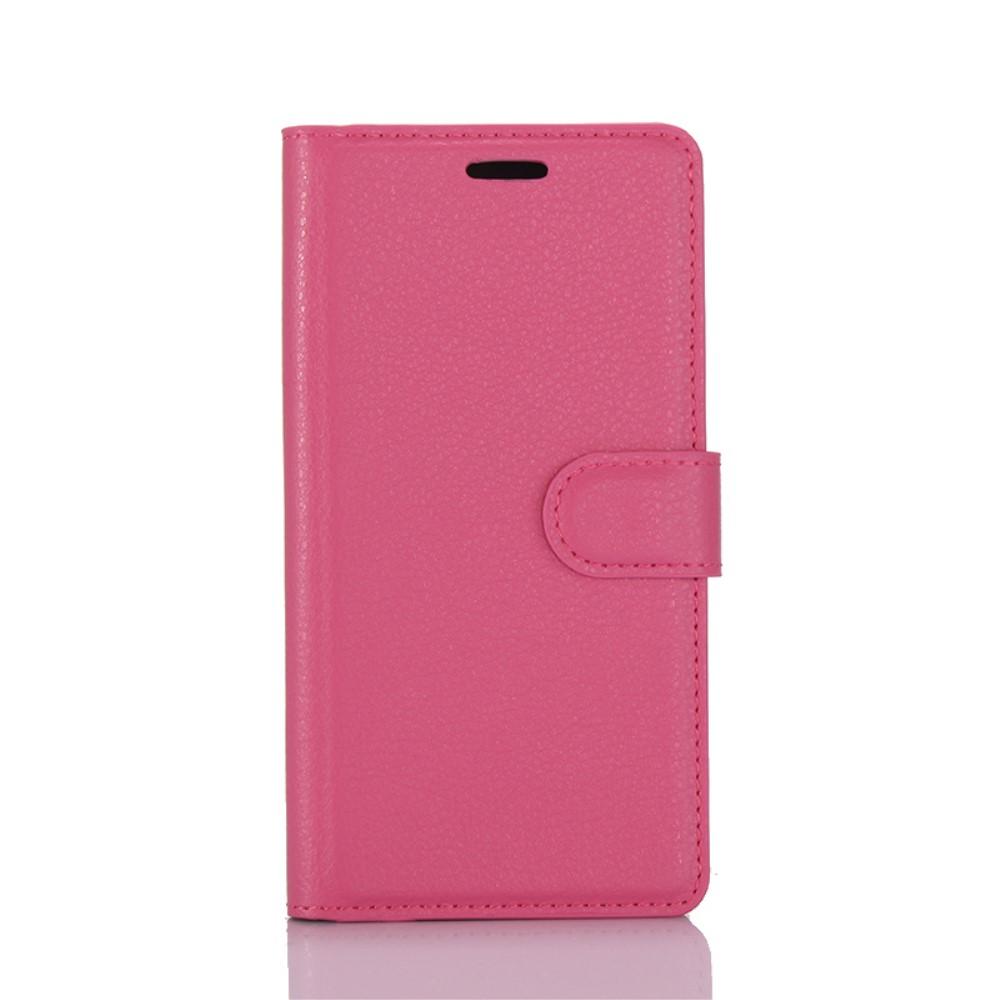 Billede af Huawei P10 PU læder FlipCover m. Kortholder - Rosa