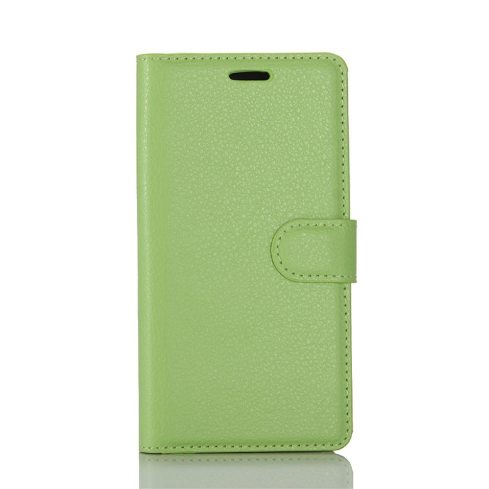 Billede af Huawei P10 PU læder FlipCover m. Kortholder - Grøn