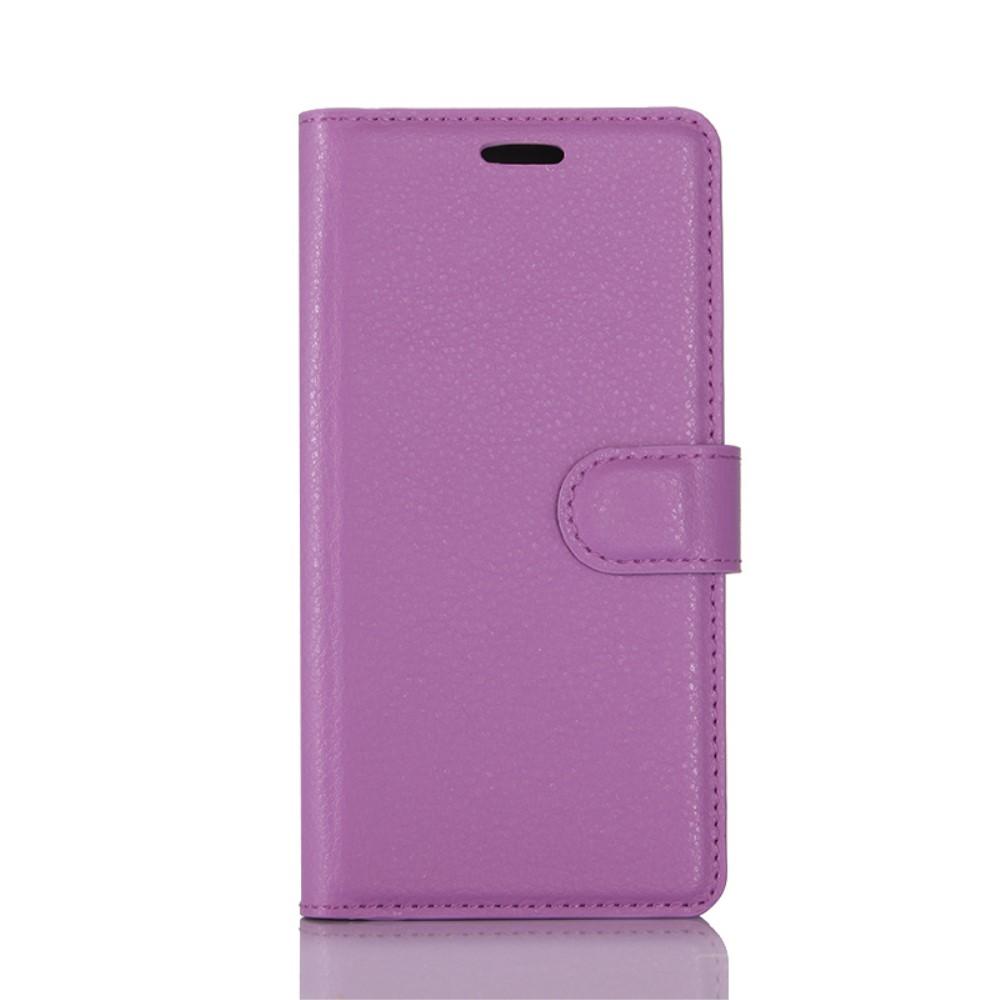 Billede af Huawei P10 PU læder FlipCover m. Kortholder - Lilla