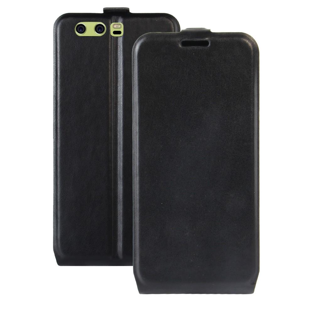Billede af Huawei P10 Plus PU læder Vertikal Flipcover - Sort
