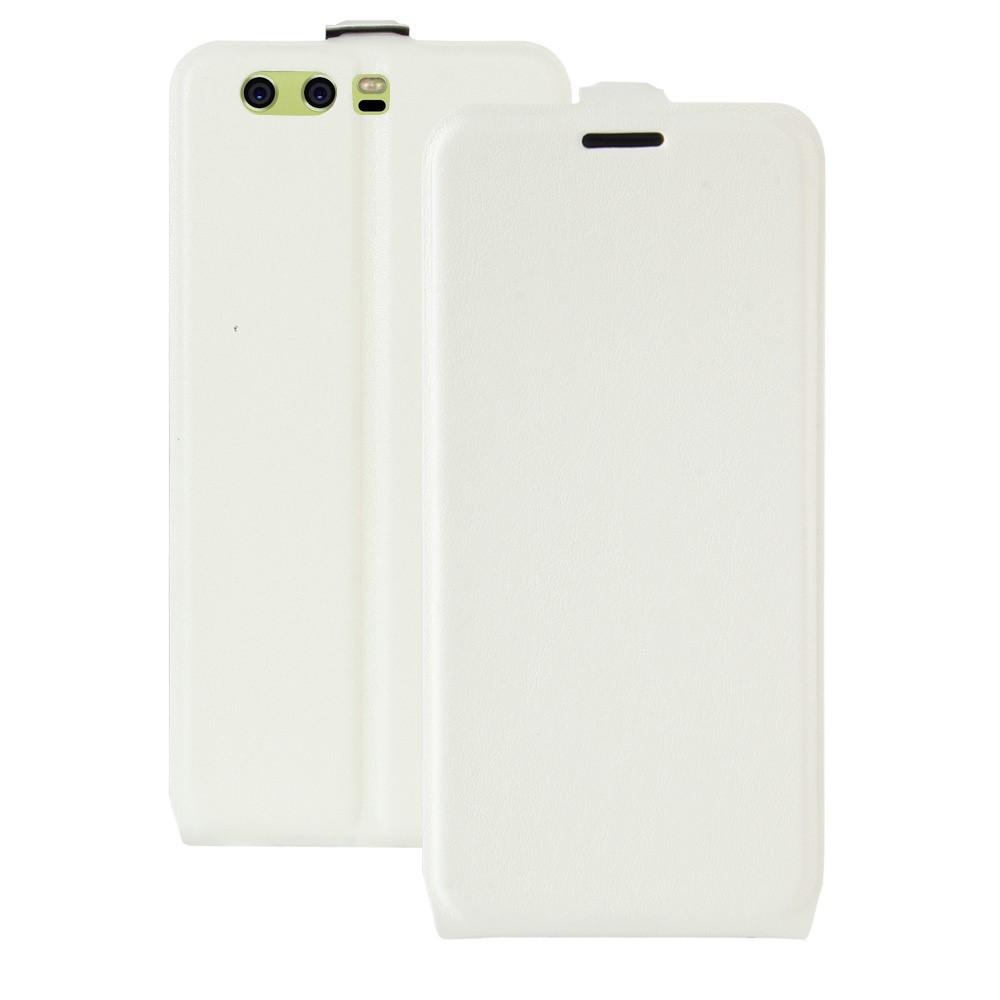 Billede af Huawei P10 Plus PU læder Vertikal Flipcover - Hvid