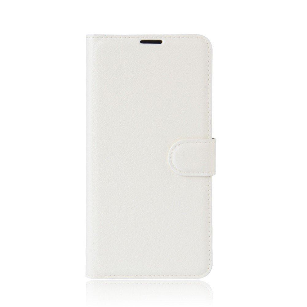 Billede af Huawei P10 Lite PU Læder FlipCover m. Kortholder - Hvid
