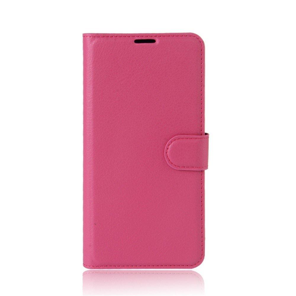 Billede af Huawei P10 Lite PU Læder FlipCover m. Kortholder - Pink