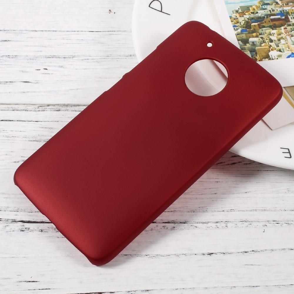 Image of Motorola Moto G5 InCover Plastik Cover - Rød