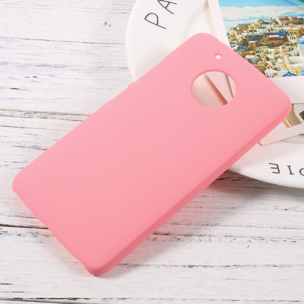 Image of Motorola Moto G5 InCover Plastik Cover - Pink