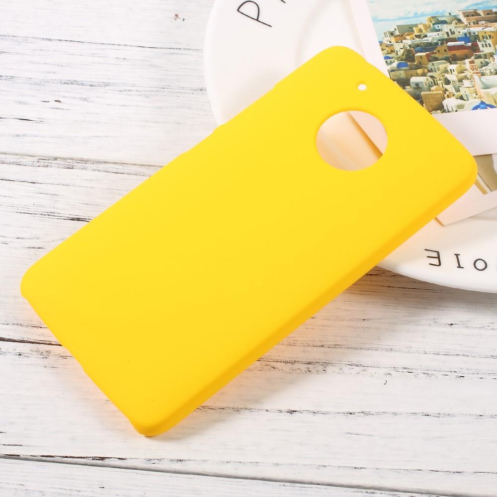 Billede af Motorola Moto G5 InCover Plastik Cover - Gul