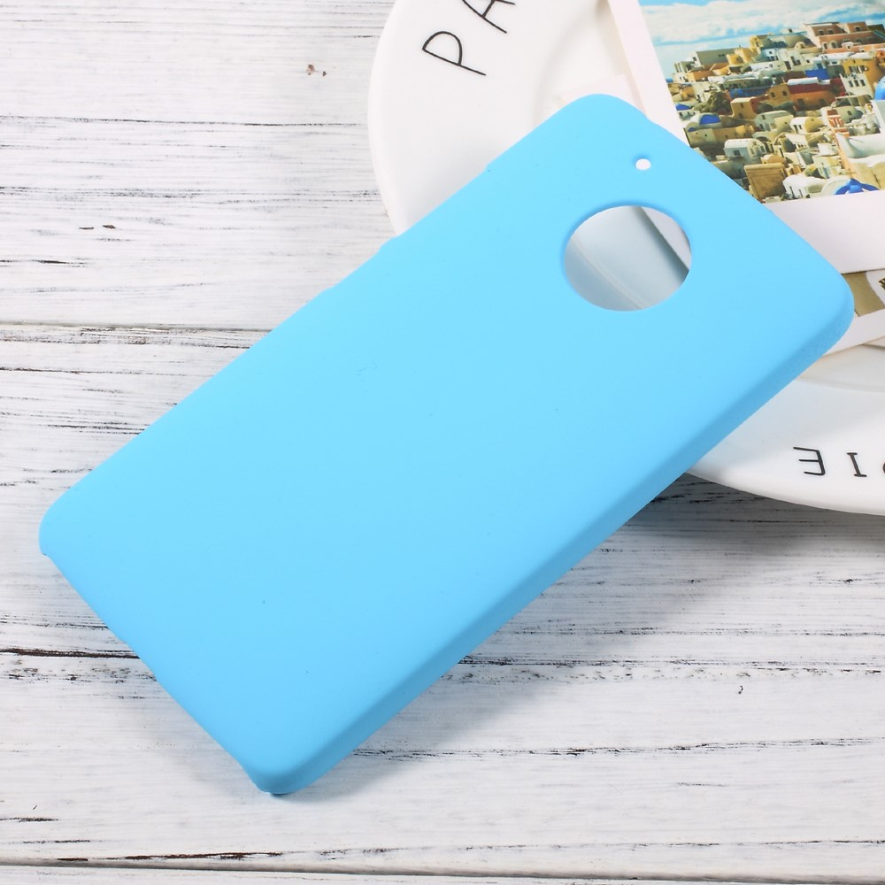 Billede af Motorola Moto G5 InCover Plastik Cover - Lys Blå