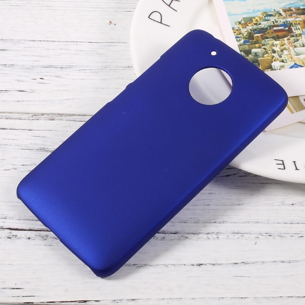 Billede af Motorola Moto G5 InCover Plastik Cover - Mørk Blå