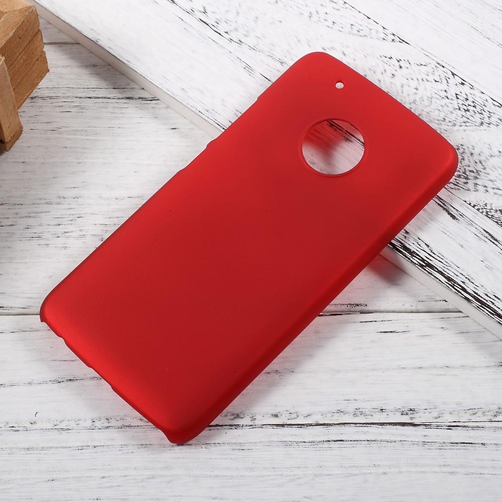 Billede af Motorola Moto G5 Plus InCover Plastik Cover - Rød