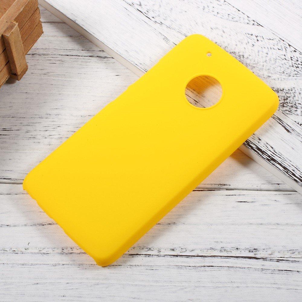 Billede af Motorola Moto G5 Plus InCover Plastik Cover - Gul