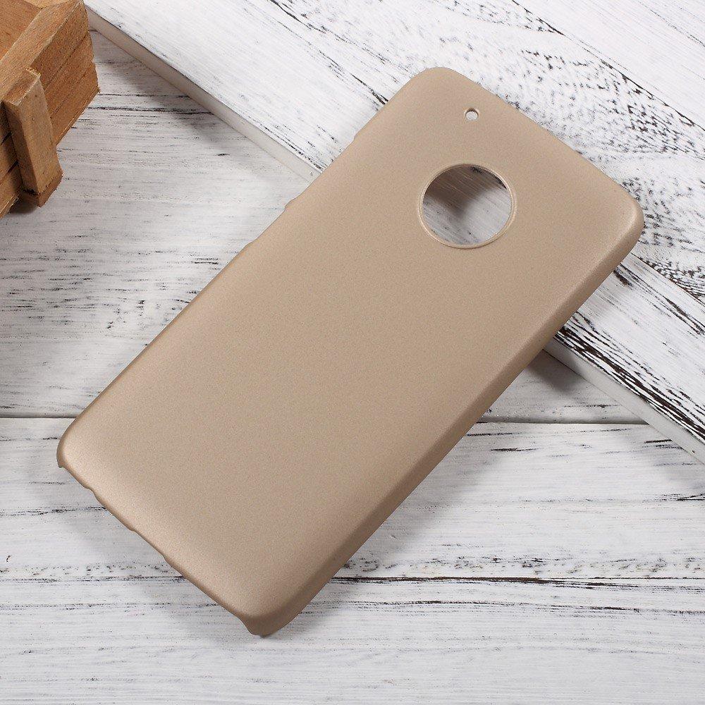 Billede af Motorola Moto G5 Plus InCover Plastik Cover - Guld