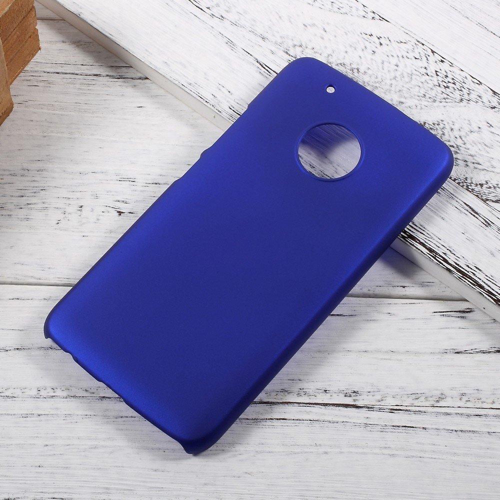 Billede af Motorola Moto G5 Plus InCover Plastik Cover - Mørk Blå