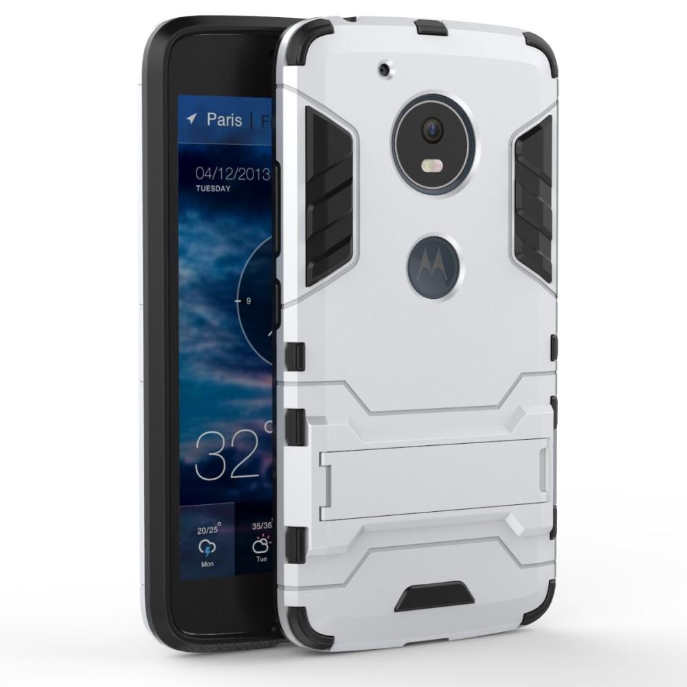 Billede af Motorola Moto G5 InCover TPU Hybrid Cover - Sølv