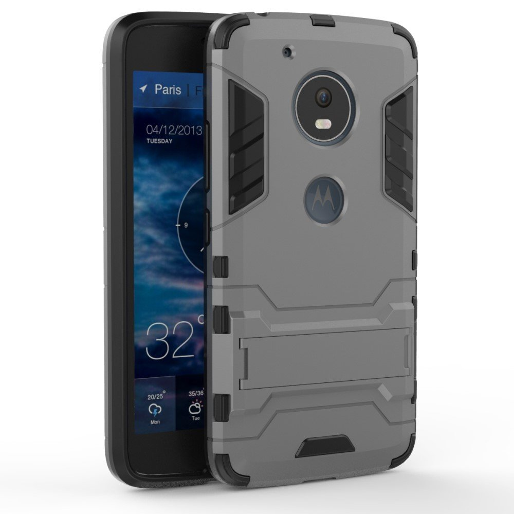 Billede af Motorola Moto G5 InCover TPU Hybrid Cover - Grå