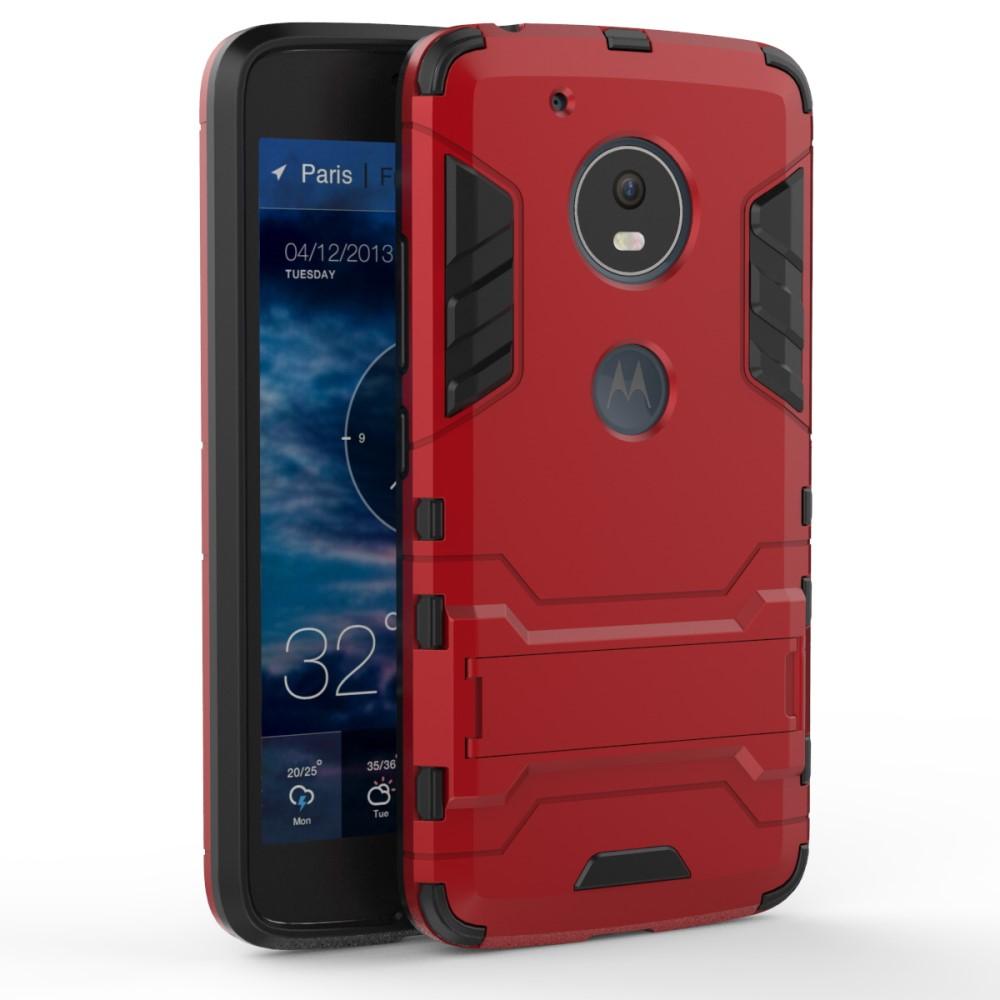Billede af Motorola Moto G5 InCover TPU Hybrid Cover - Rød