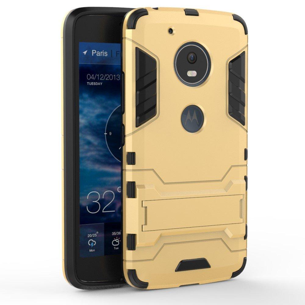 Billede af Motorola Moto G5 InCover TPU Hybrid Cover - Guld