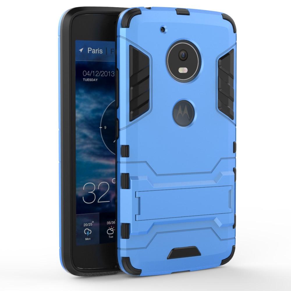 Billede af Motorola Moto G5 InCover TPU Hybrid Cover - Lys Blå