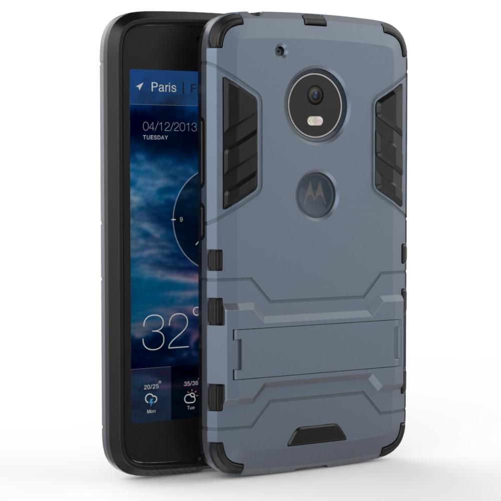 Billede af Motorola Moto G5 InCover TPU Hybrid Cover - Mørk Blå