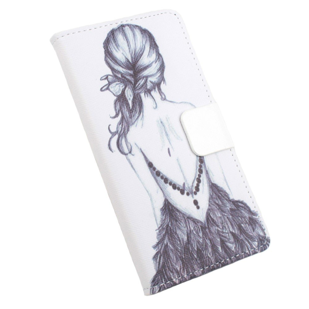 Billede af Google Pixel XL PU læder FlipCover m. Kortholder - Grey Girl