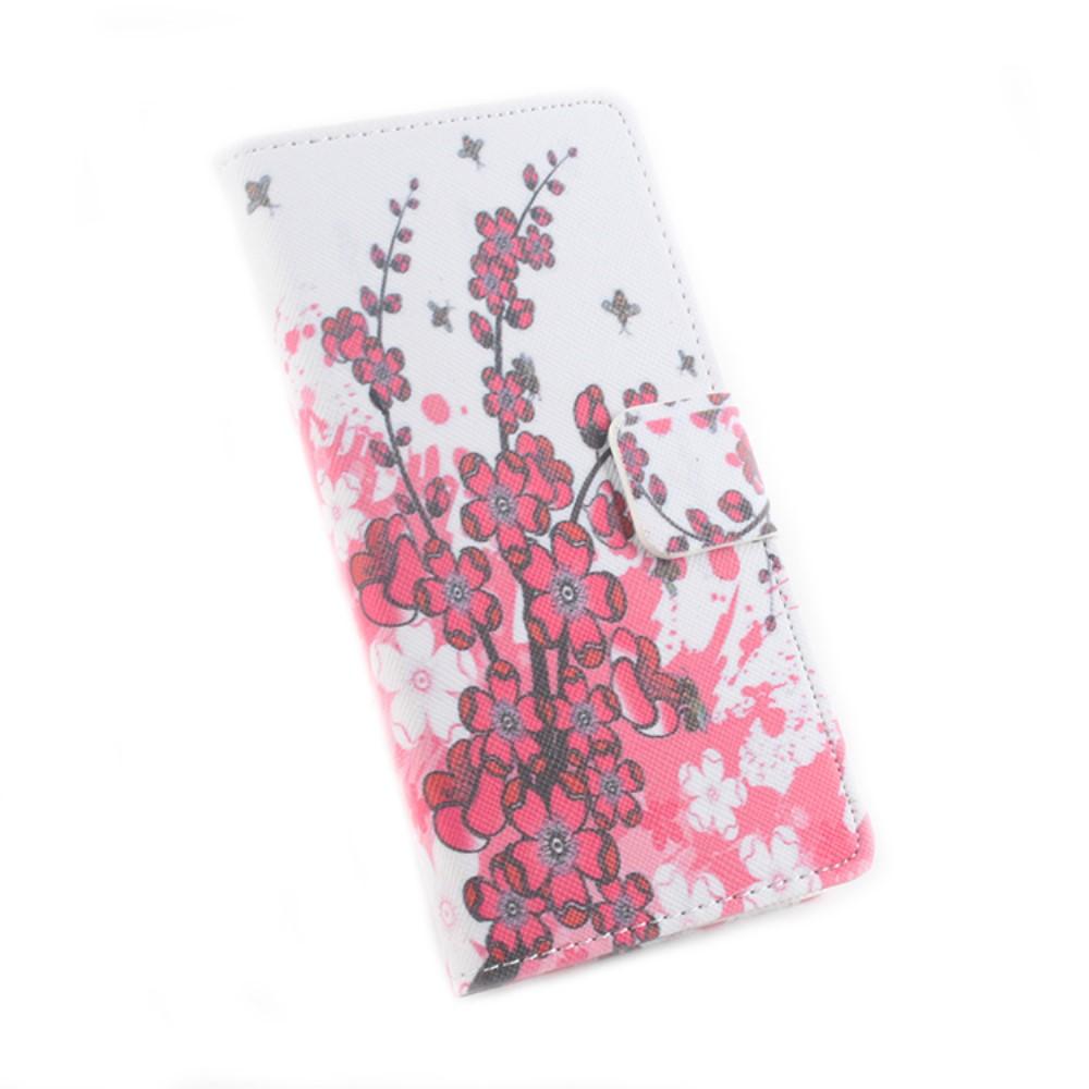 Billede af Google Pixel XL PU læder FlipCover m. Kortholder - Plum Blossom