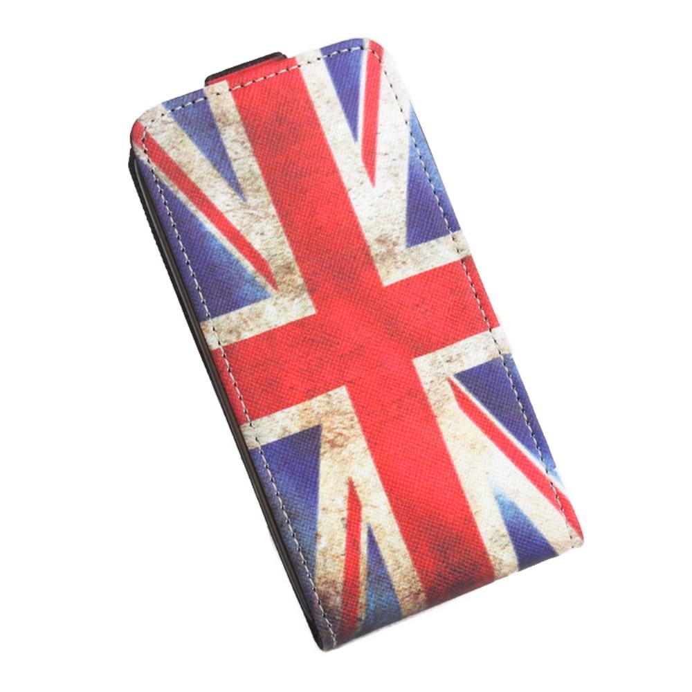 Billede af Google Pixel XL PU læder Vertikal FlipCover - UK Flag