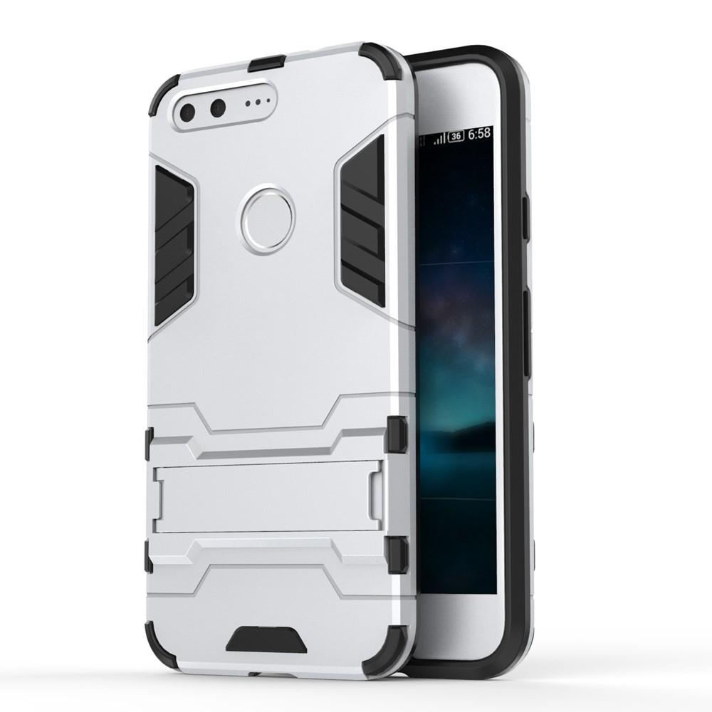 Image of Google Pixel InCover TPU Hybrid Cover - Sølv