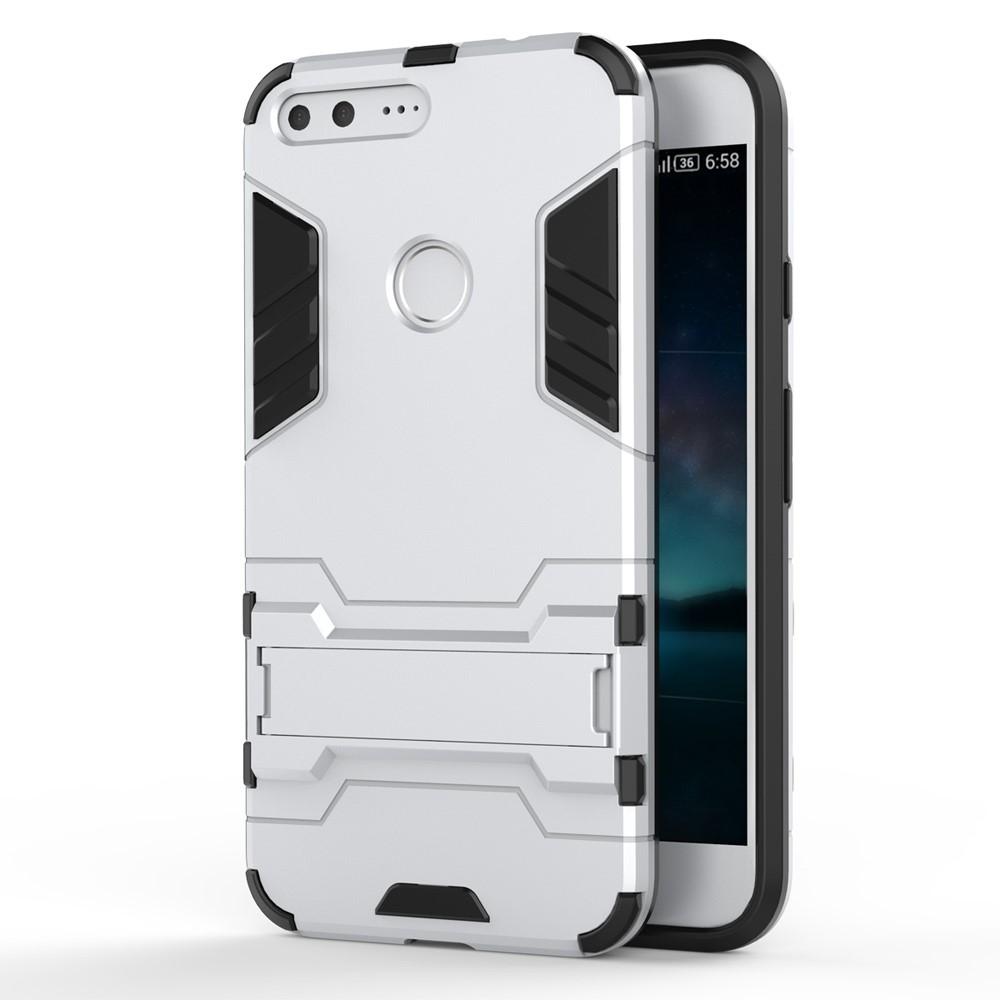 Billede af Google Pixel XL InCover TPU Hybrid Cover - Sølv