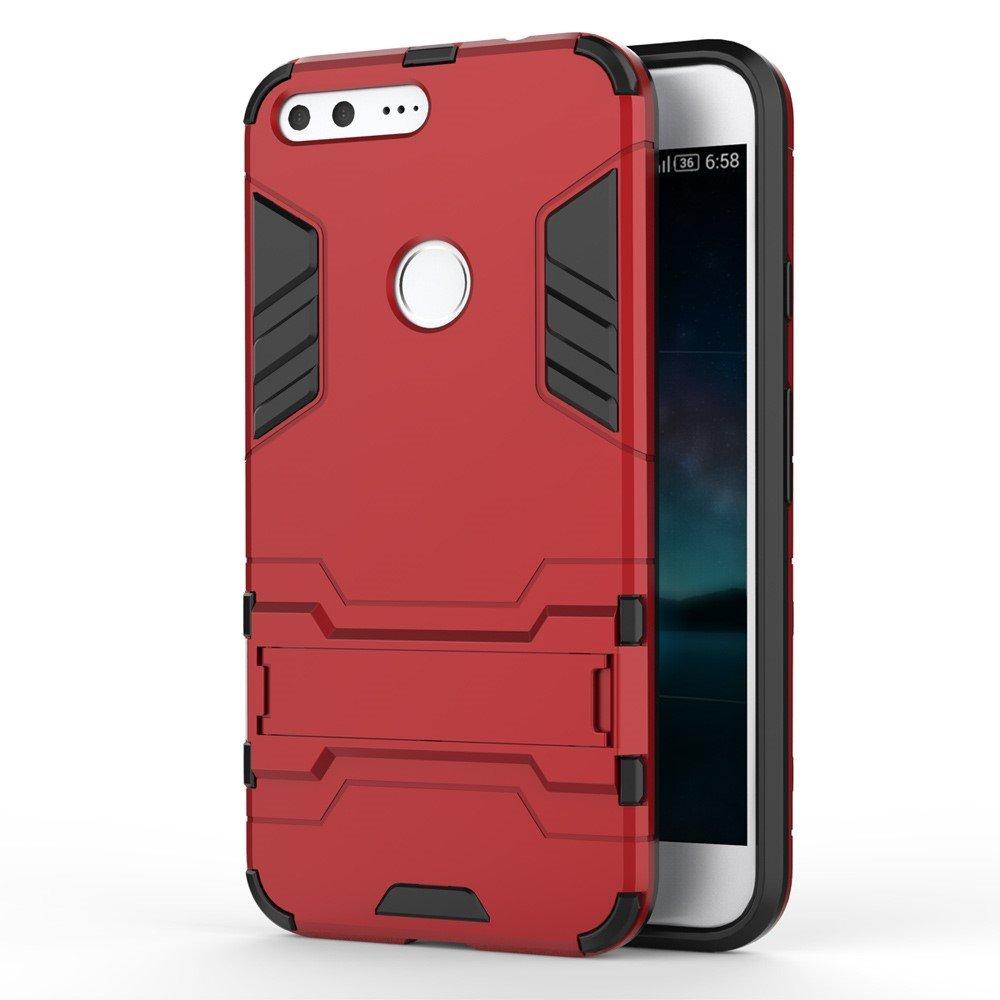 Billede af Google Pixel XL InCover TPU Hybrid Cover - Rød