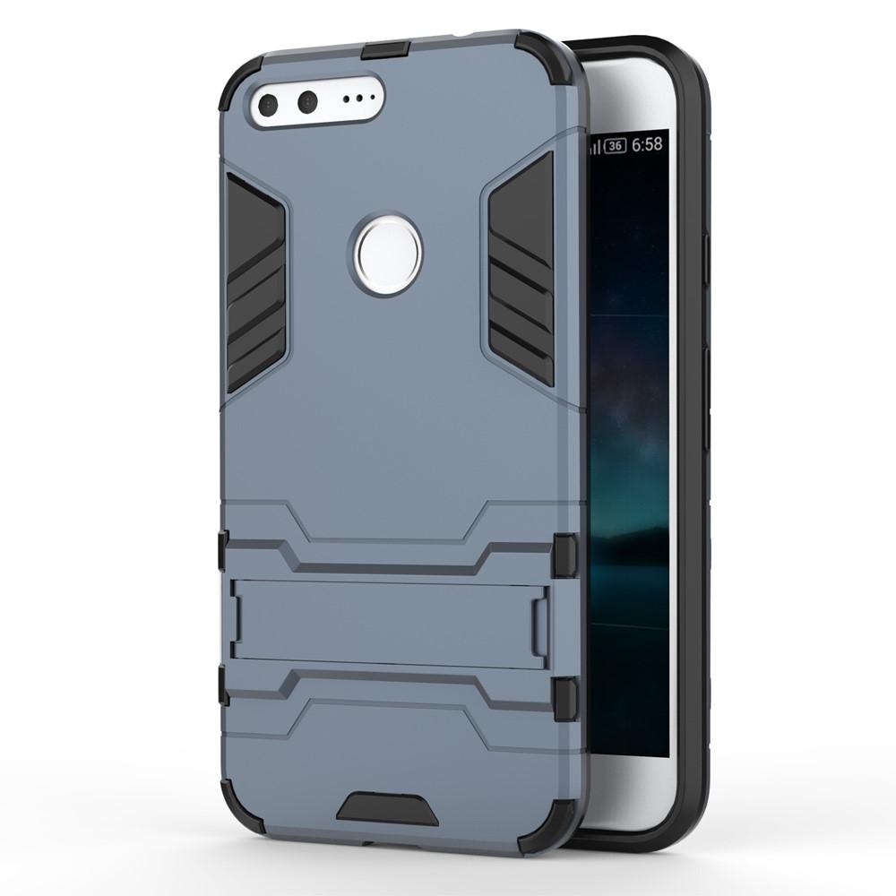 Billede af Google Pixel XL InCover TPU Hybrid Cover - Mørk blå