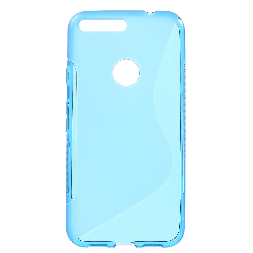 Billede af Google Pixel XL InCover TPU S-shape Cover - Blå