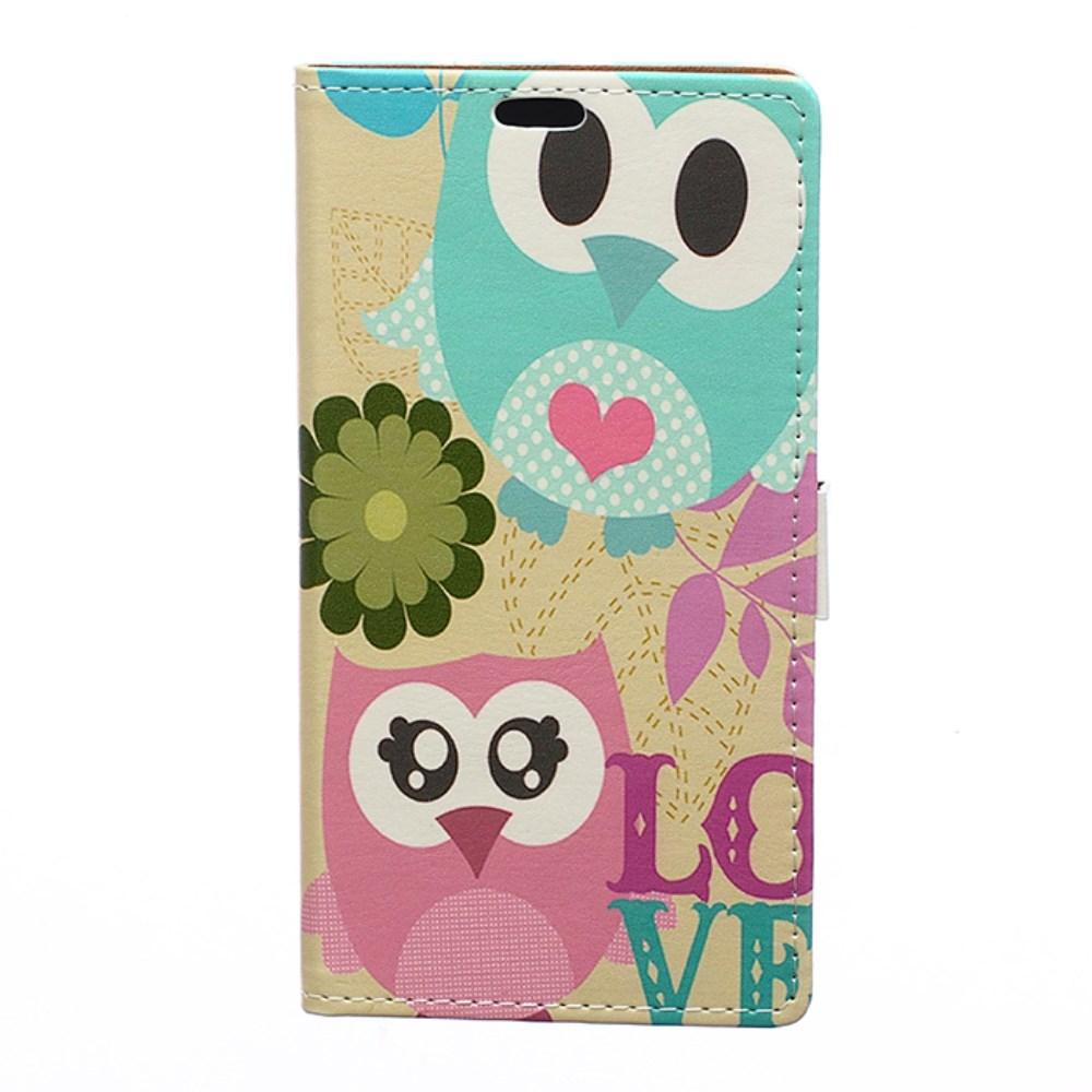Image of Microsoft Lumia 950 XL inCover Design Flip Cover m. Kortholder - Owl Lover