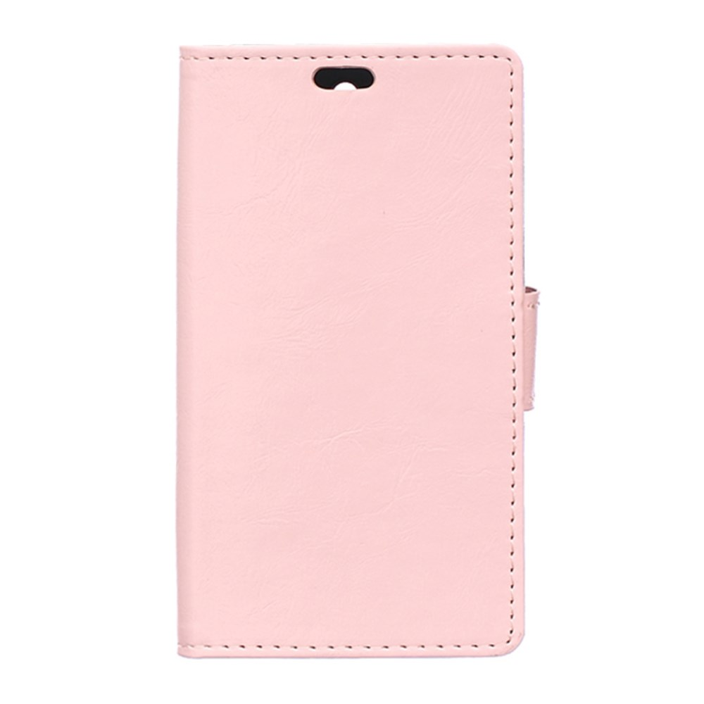 Image of Microsoft Lumia 550 Smart Flip Cover m. Pung - Lyserød