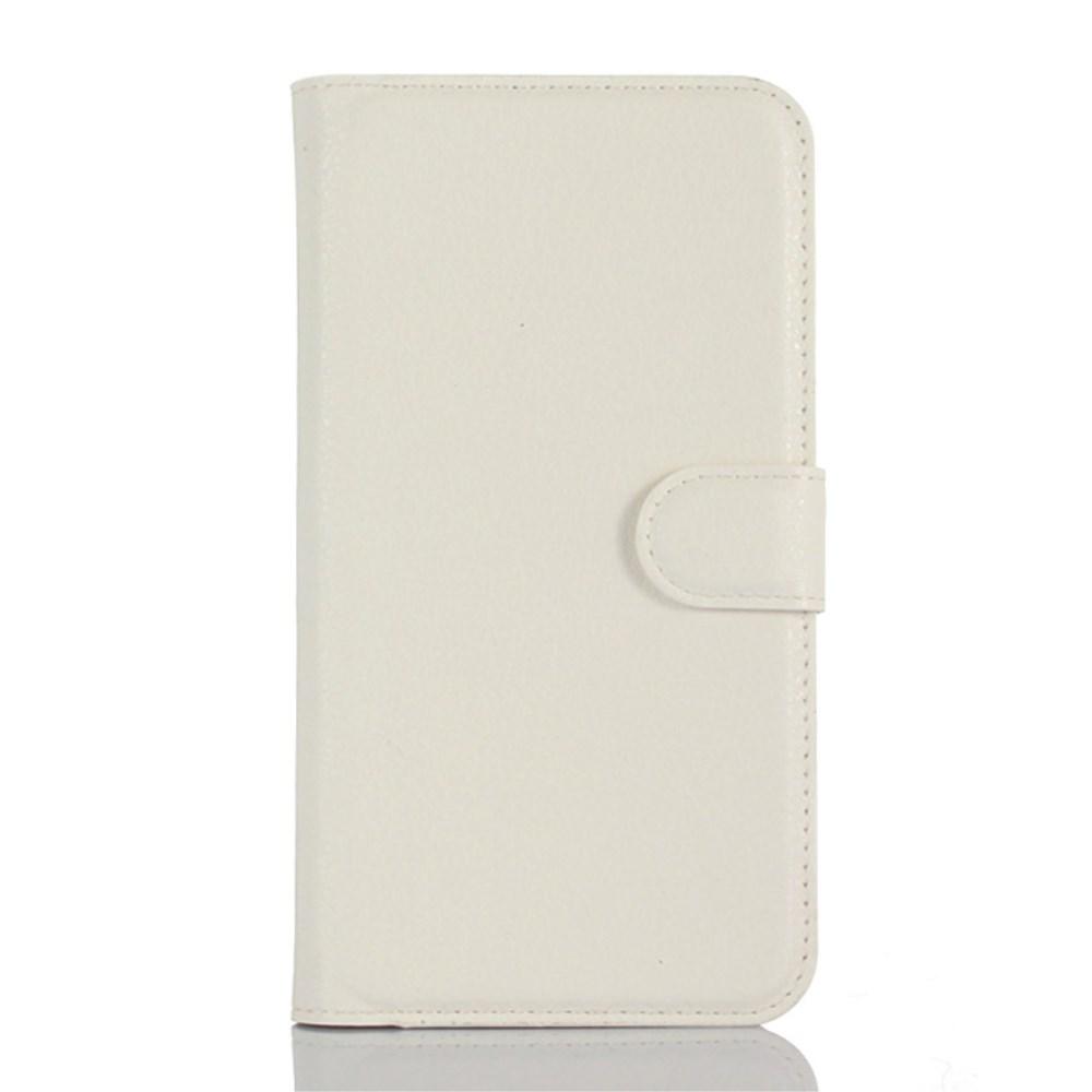 Image of Microsoft Lumia 650 Læder Cover m. kortholder - Hvid