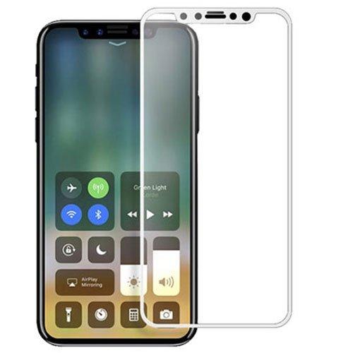 Image of Apple iPhone X MOCOLO Full-size Hærdet Glas Skærmbeskyttelse - Hvid