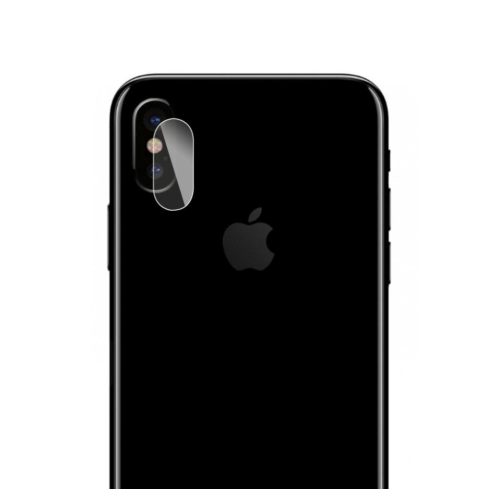 Image of Apple iPhone X Hærdet Glas beskyttelse til Kameralinsen