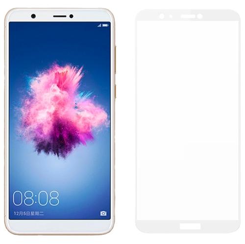 Image of Huawei P Smart MOCOLO Hærdet Glas Skærmbeskyttelse (Full-size) - Hvid