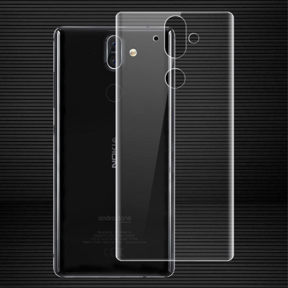 Image of Nokia 8 Sirocco IMAK Skærmbeskyttelse Back (full-size)